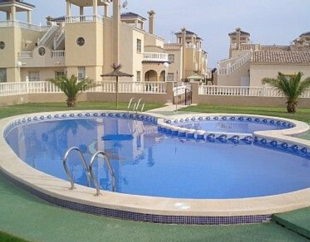 Communal pool, three bedroom villa, spain